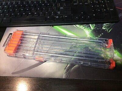 Nerf N-Strike CLEAR 18 Max Round Dart Gun Ammo Clip Magazine from Rapidstrike