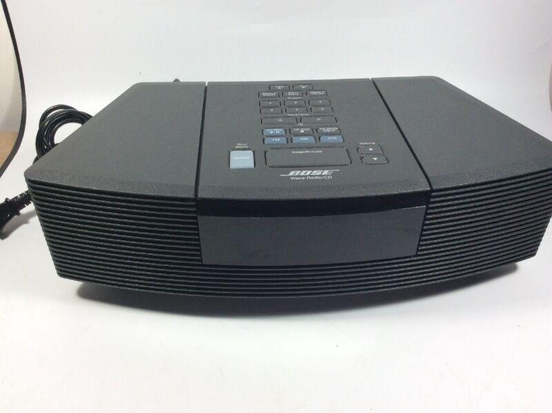 Bose Wave Radio CD Player Stereo Alarm Clock AWRC1G Tested Working