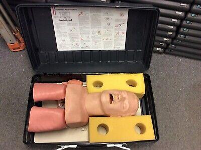 Laerdal Adult Airway Management Intubation Trainer Manikin Emt Training