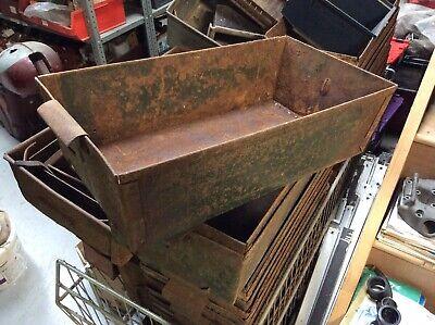 Vintage Metal Storage Tray