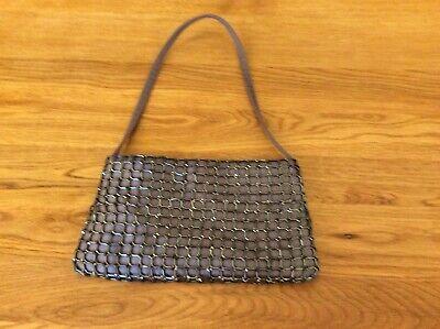 Next Small Grey Handbag Used  In Good Condition