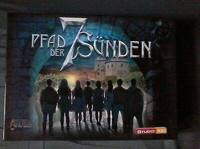 Pfad der 7 Sünden  Spiel das Haus Anubis  Studio 100 (Das Papier Studio)