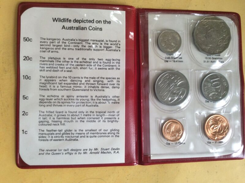 Australia: 1981 Wildlife Mint Set                            (D231-1231)