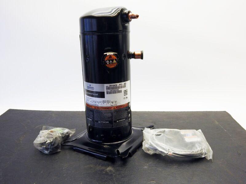 Copeland Scroll Compressor, R407C, 14,650 BTUh 208/230V, 1PH, ZR16K5E-PFV-880