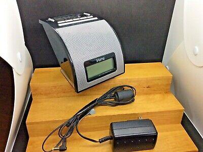 Vintage Working iHome iPod Dock Alarm Clock & FM Radio Model # iH110B