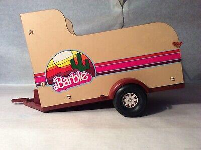 VINTAGE MATTEL 1970s BARBIE HORSE TRAVELIN' TRAILER HAULER USA TRAILER ONLY