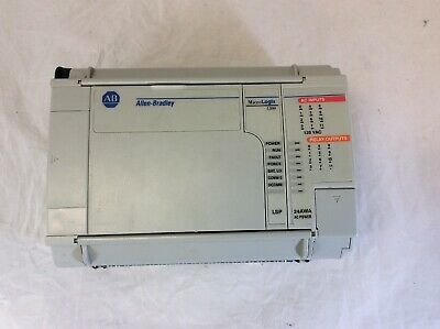 Allen Bradley 1764-24awa Sera Reva Micrologix 1500 Base Unit 1764-lsp Processor
