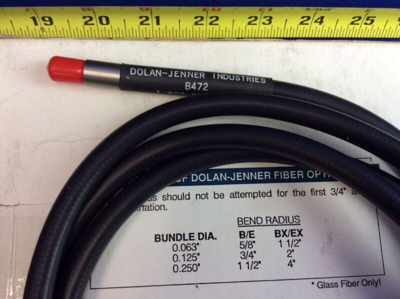 "DOLAN-JENNER B472 FIBER OPTIC LIGHT GUIDE 72""L 1/4""Dia."