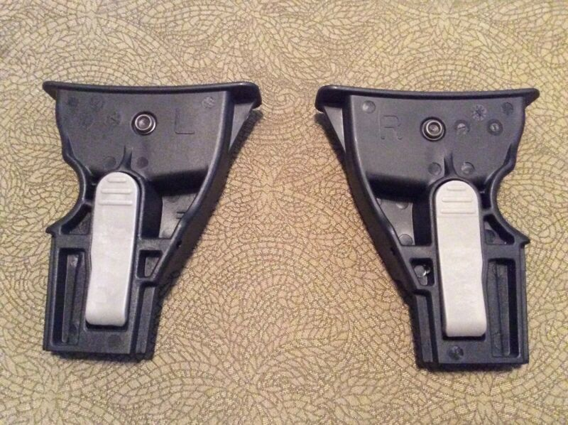 Britax B-Agile Stroller To Britax Infant Car Seat Left + Right Adapter Receivers