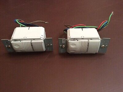 2 Working Wattstopper Pw-200-w Automatic Wall Switch Occupancy Sensor White