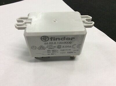 Finder - 66.82.8.120.0000- 120 Vac - 8 Prong Relay