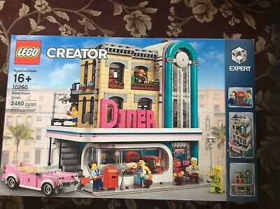 LEGO Creator Expert Downtown Diner #10260  BRAND NEW FACTORY SEALED