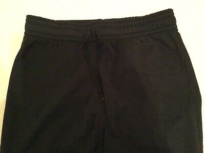 Womens Large UNDER ARMOUR Storm Cold Gear Sweatpants Semi Fitted Black