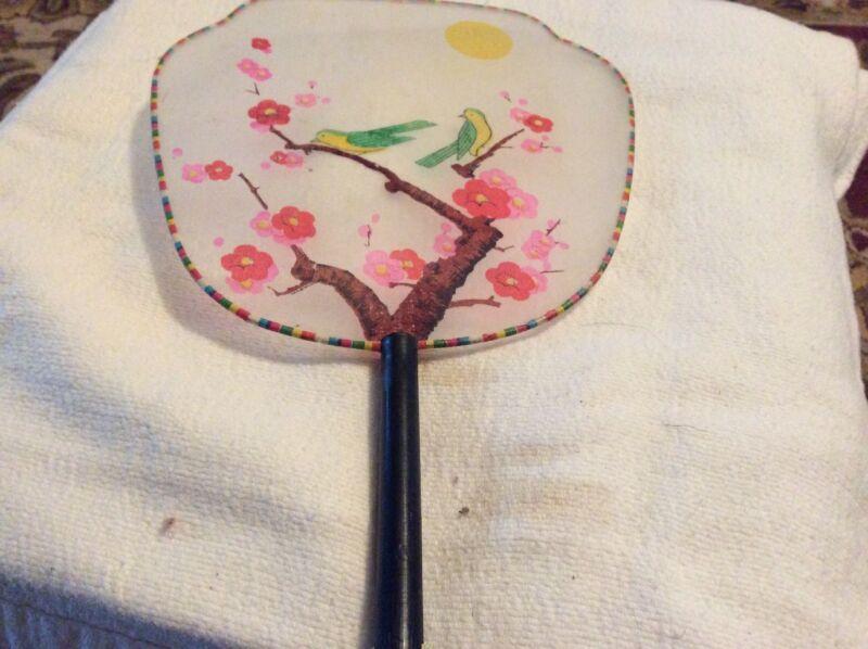 vintage Asian Hand Fan