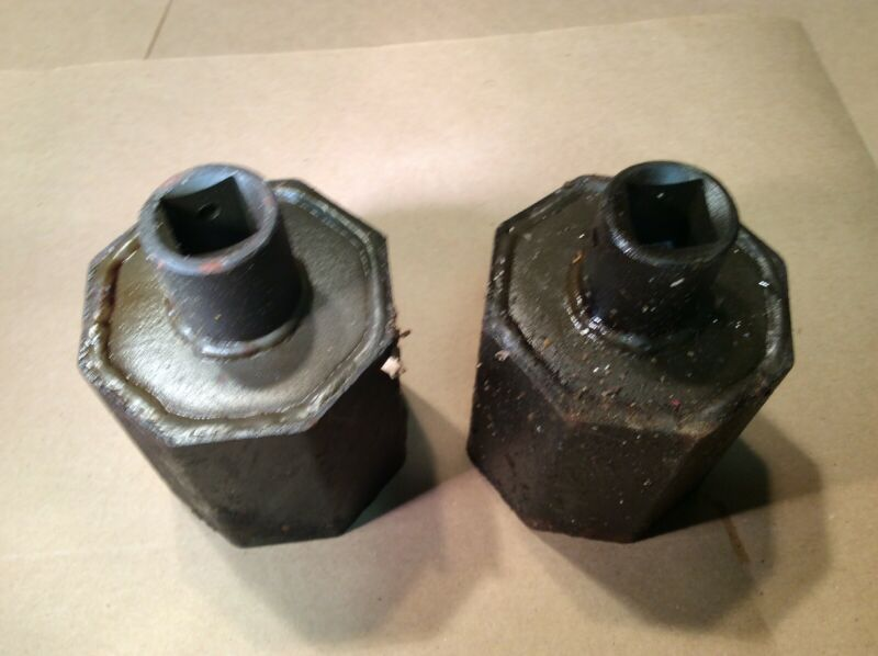 Pair Of 2 World War Two Axle Nut Socket For 2-1/2 Ton Truck M35/M35A2  INVB32