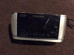 Emerson Research CKS3528 SmartSet Projector Dual Alarm Digital AM/FM Clock Radio