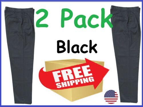 Mechanic Work Pants - Black - 2 Pack - Free Shipping
