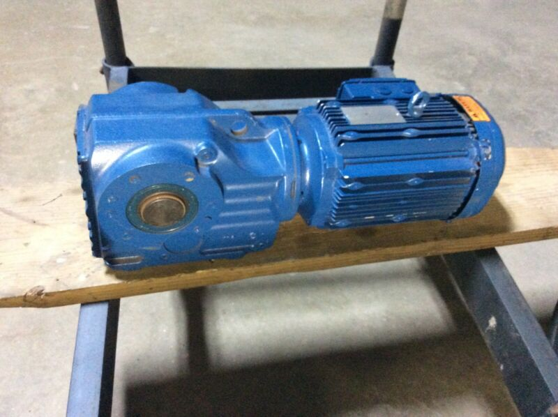 Sew-Eurodrive KA67/TDRE100L4 3HP Gear Motor