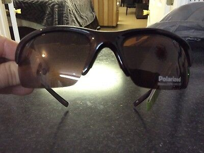 442b1586af Ultralight Solar Comfort by Foster Grant Brown Sport Polarized Driver  Sunglasses