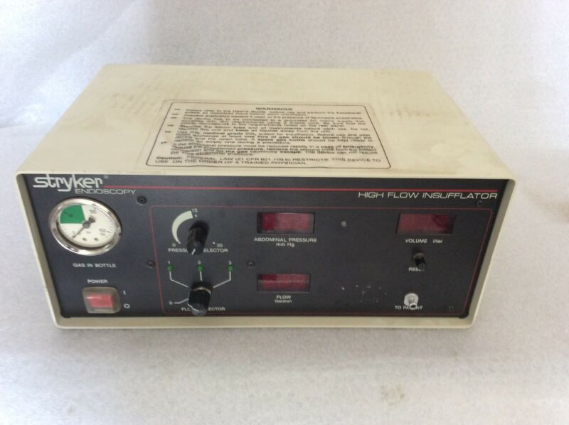 Stryker Highflow Insufflator 620-30 - Endoscopy