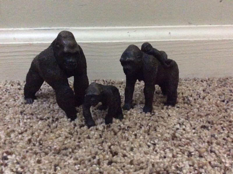 Schleich Gorilla Lot