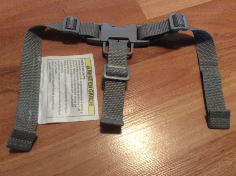 Ingenuity Baby Seat 2 In 1 Feeding Seat Replacement Straps Part Gray