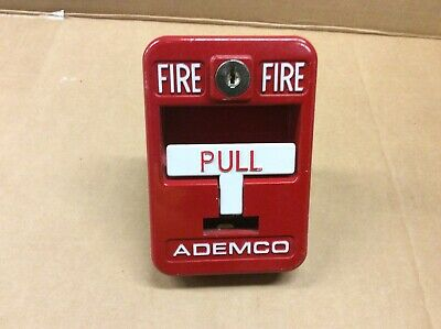 Ademco Fire Alarm Manual Pull Station 5140mps-1 - No Key