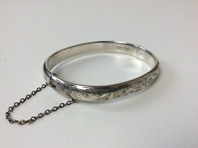 Charles Horner CH Sterling Silver 925 Cuff Bracelet Bangle 13.8g Vintage Old for sale  Shipping to South Africa