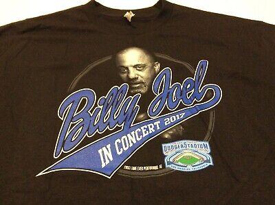 BILLY JOEL (2017) Los Angeles Dodger Stadium Concert Tour T-Shirt Size XL