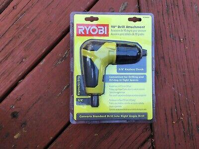 Ryobi 18 Volt Right Angle 90 Degree Drill Attachment 38 Chuck A10raa1 Used