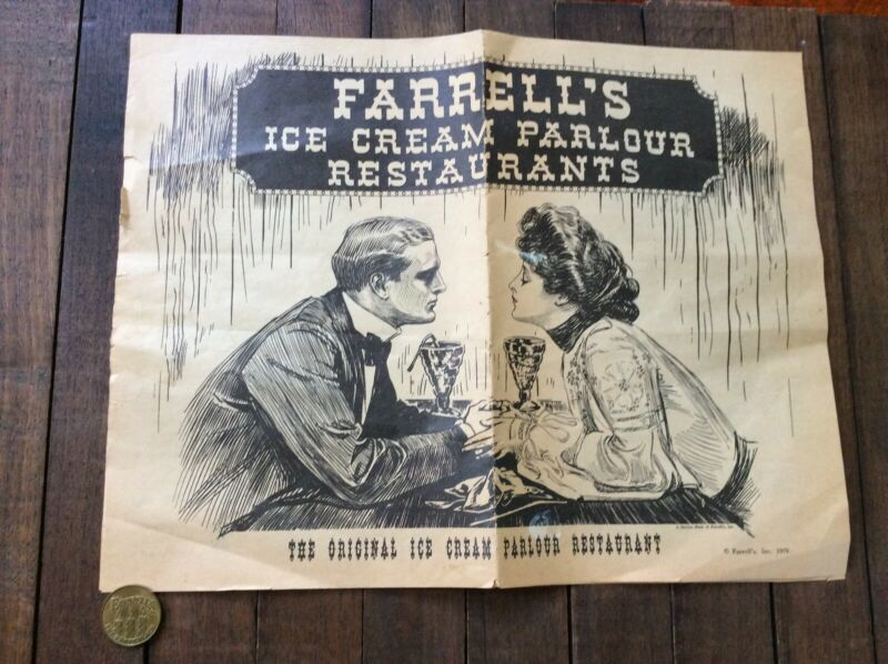 Vintage Old Coin Farrell