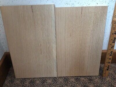 """White Oak Planks ~18"""" X 15"""" Figured Partially Rough Over 2 Square Foot Lot #14 for sale  Mason"""