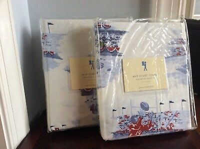 POTTERY BARN KIDS Duvet / Sheet Set TWIN - MVP SPORTS - NEW