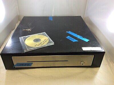 Promag Locking Metal Black Usb Cash Register Drawer 1818 Usb Key - No Till