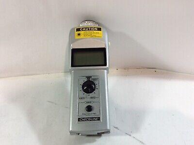Shimpo Handheld Laser Digital Tachometer Dt-209x - Am C1d