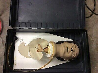 Nasco Lifeform Simulaids Cparlene Airway Management Intubation Trainer Manikin