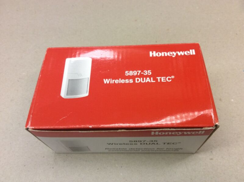 Honeywell 5897-35 Wireless DUAL-TEC Motion Detector