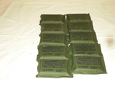Verbandpäckchen Bundeswehr, 10 Stück