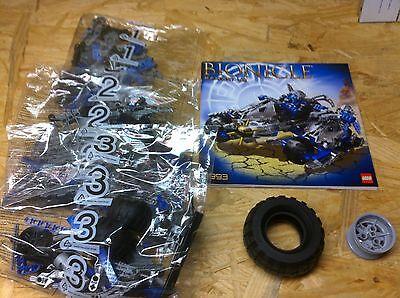 8993 Kaxium V3 Lego Bionicle Sealed Bags Instructions Legos Set