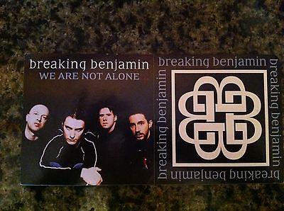 Breaking Benjamin promo sticker for 2004 cd release RARE 2 stickers