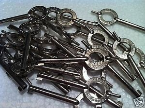 100-PEERLESS-HANDCUFF-KEYS-KEY-WILL-FIT-MOST-HANDCUFFS-S-W-AMERICAN-ASP
