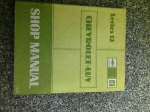 1982-Chevy-Chevrolet-LUV-TRUCK-L-U-V-Service-Shop-Manual-Series-12-OEM-BOOK