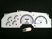 Ford Racing Gauges White Face