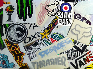 STICKERBOMB-x-10-STICKER-PACK-SKATEBOARD-SNOWBOARD-SURF-ENERGY-DRINK-STICKERS