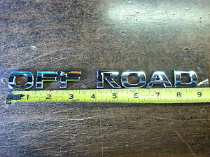 Nissan-OFFROAD-Rear-Gate-Emblem-Armada-Pathfinder-Titan-Xterra-Frontier