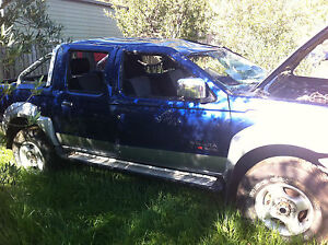 NISSAN NAVARA D22 WRECKING ALL PARTS 3.0 DIESEL TURBO 03 9359 0034