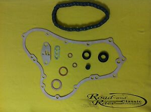 Norton Timing Cover, Gasket, Cam chain and Seal Service kit,