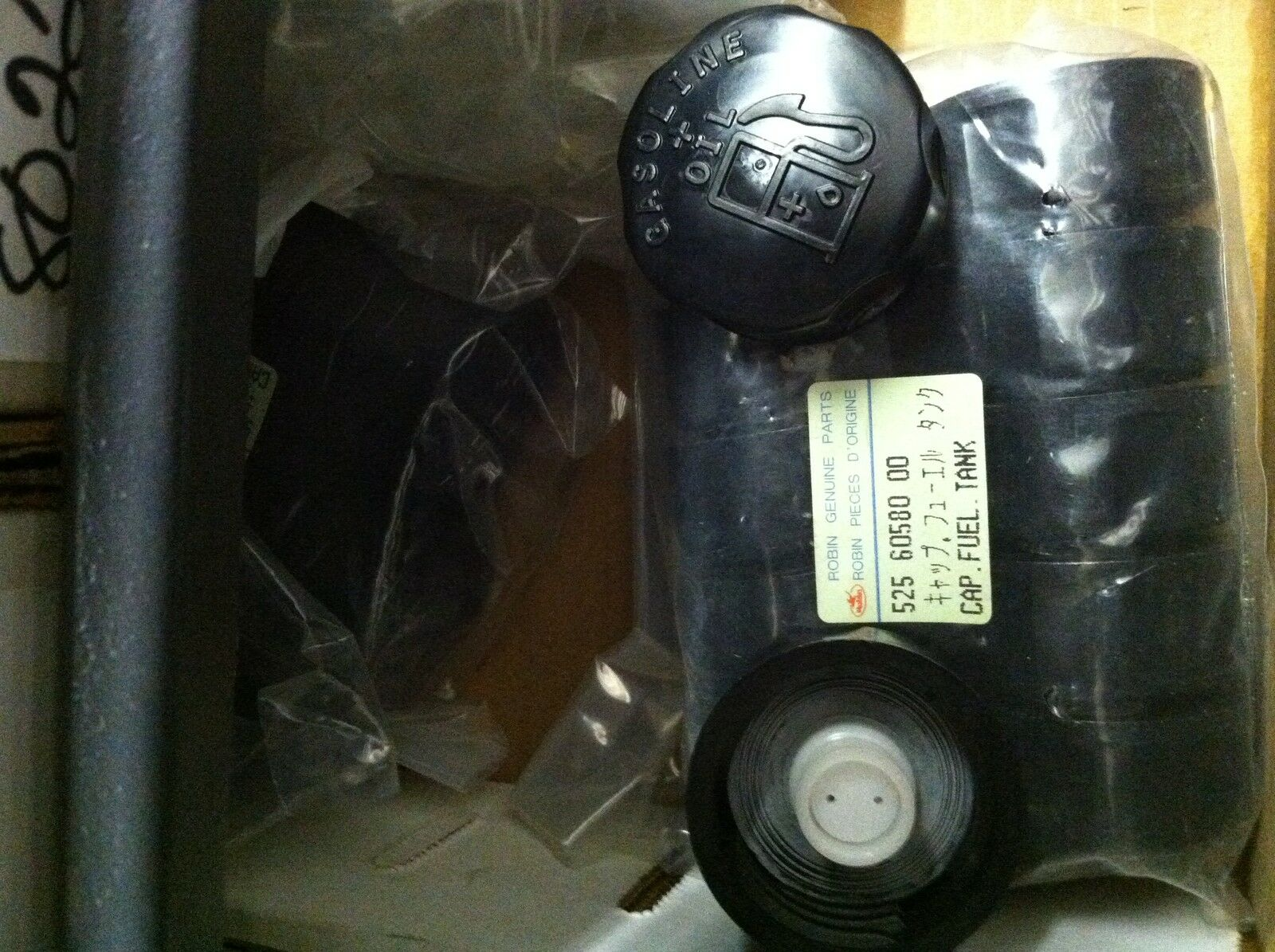 Robin Trimmer / Blower Fuel Cap 9990 14681 9000 Fits Many