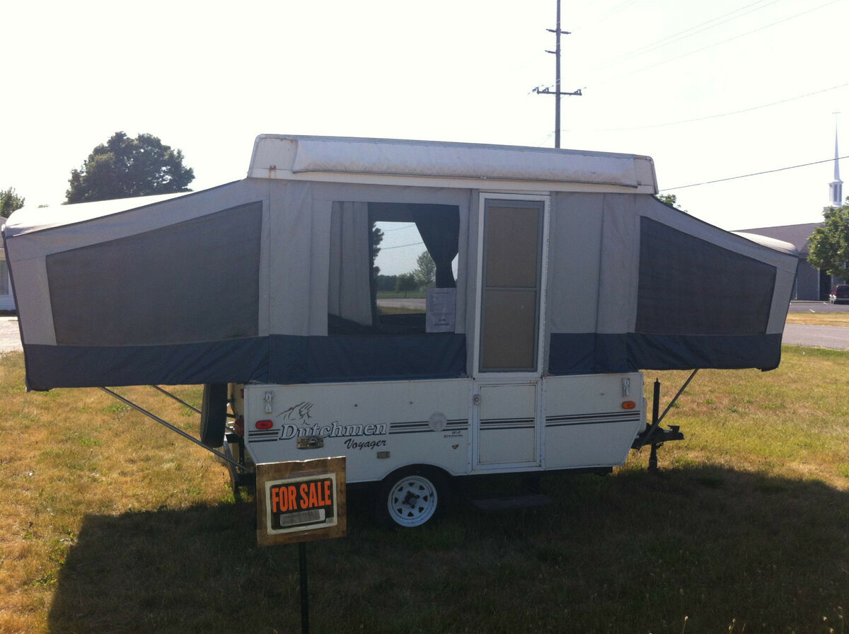 2000 Dutchman Popup camper with Heater Stove Refrig on PopScreen