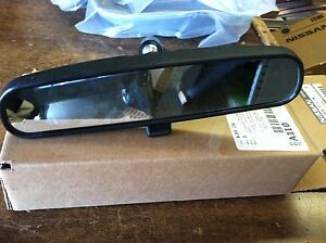 Nissan Oem Replacement Inside Rear View Mirror Fits Many Nissan Base Models